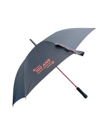 Parapluie avec logo des 100 ans